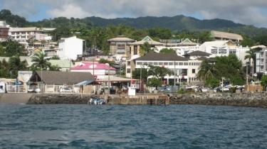 Mayotte's capital Mamoudzou