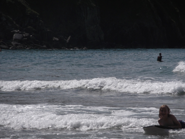 Surfing in Devon