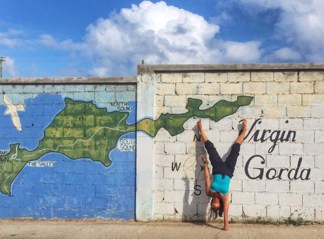 VG wall handstand