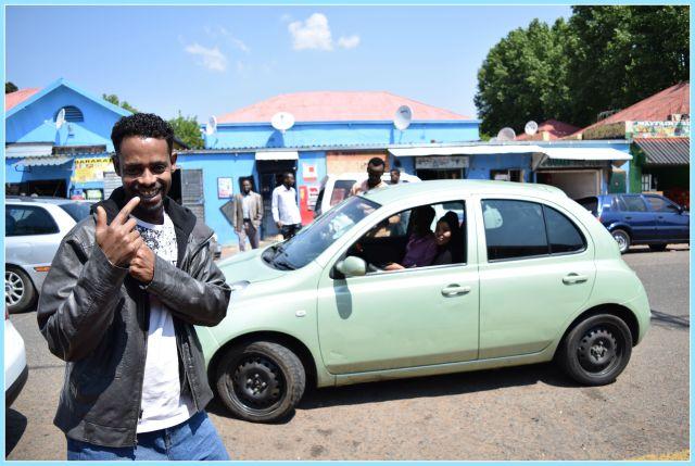 The friendliest street in Fordsburg - smiling Somalis