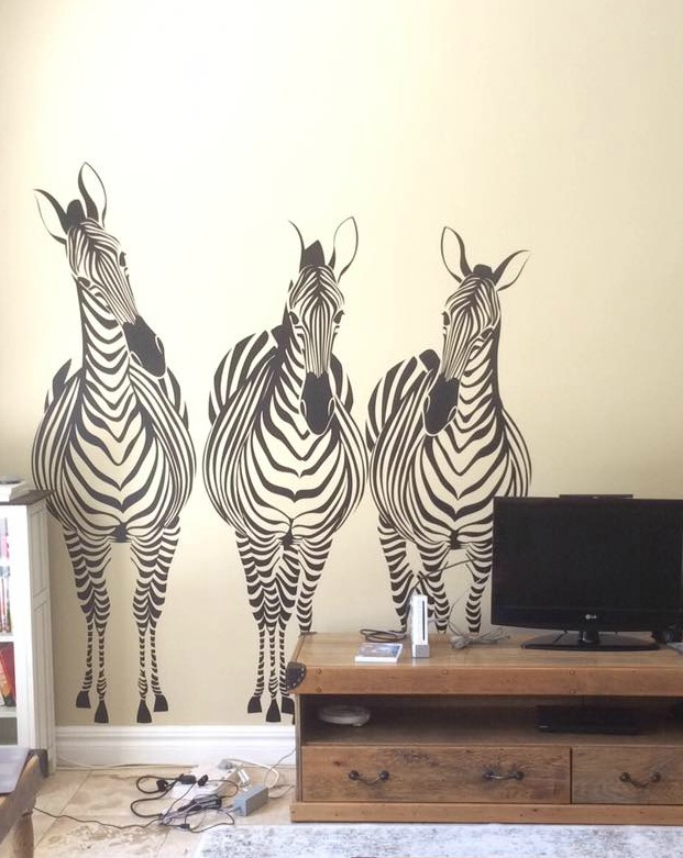 Wall decorations to fill a large wall