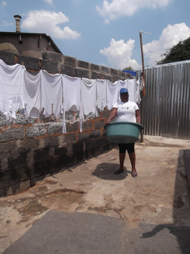 Laundry day in Soweto - the racial divide is alive and kicking in South Africa, although the antics of the ANC government mean things are not as straightforward as they seem....