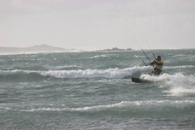 Kitesurfing in Guernsey