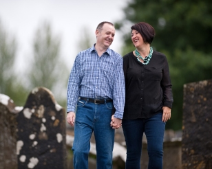 We got engaged in Ireland and visited Ardagh for some photos together