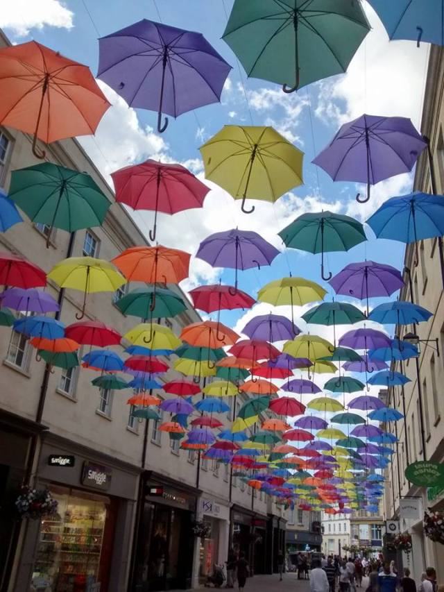 Bath umbrellas